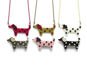 Spotty Dog Necklace