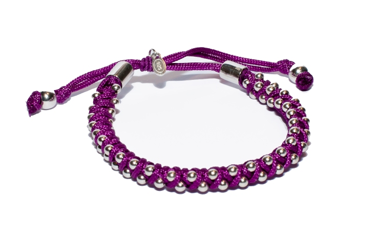 Violet Friendship Bracelet