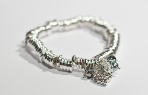 Multi link multi charm bracelet only £5.95