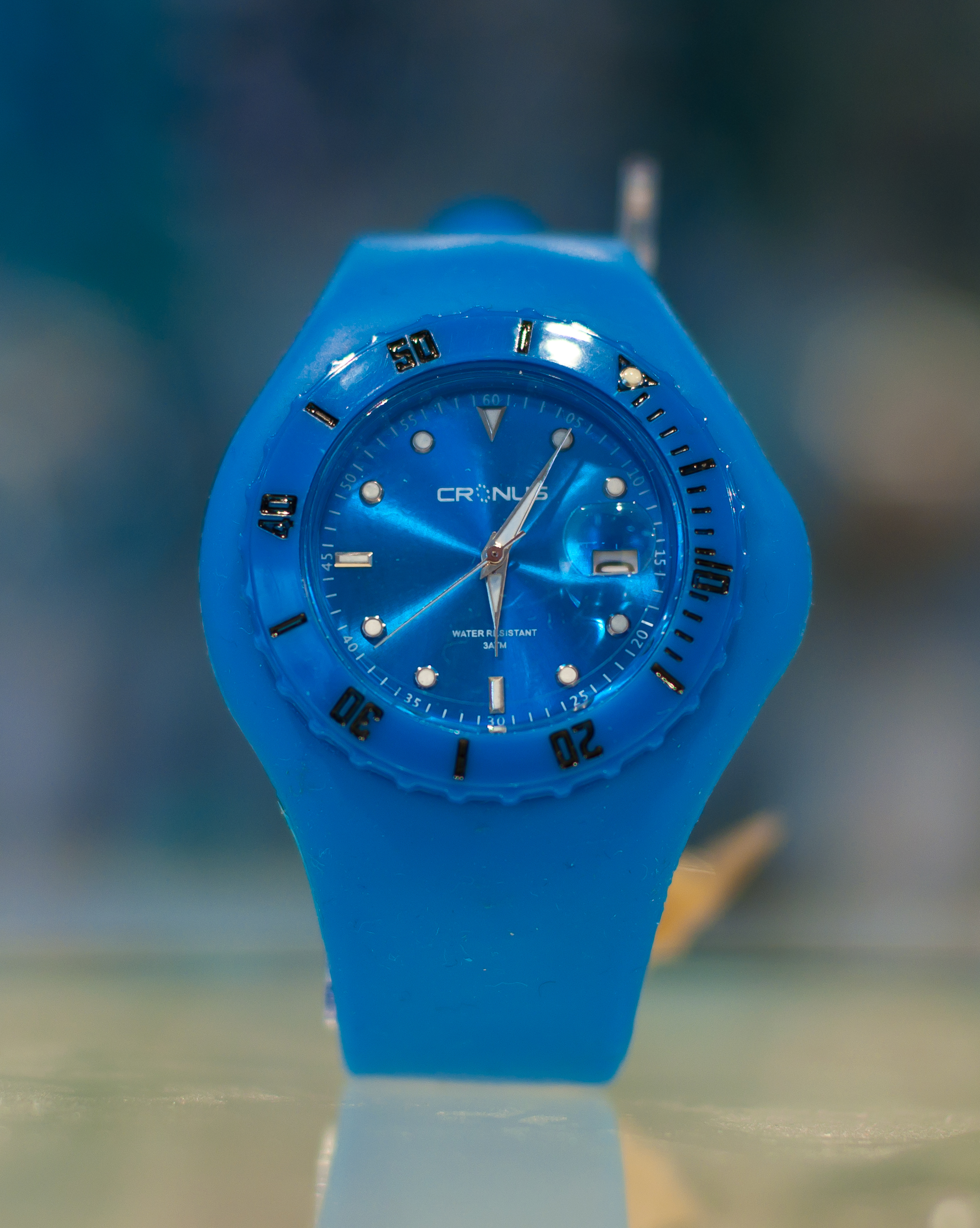 chronograph mens sport men a silicone blue case steel watch p band nst quartz s nautica watches